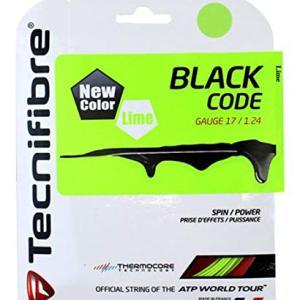 Tecnifibre Black Code Lime 124