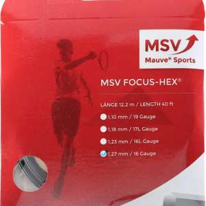 Msv Focus HEX Black 127